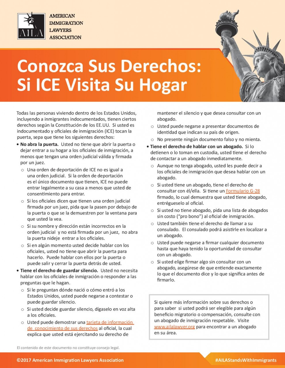 Potential ICE Raids: Know Your Rights